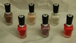 NEW Wet n Wild Megalast Salon Color Nail Polish   Hard To Find - Your Choice