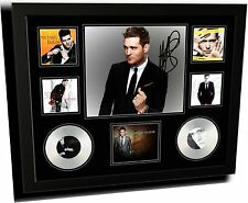 MICHAEL BUBLE SIGNED LIMITED EDITION FRAMED MEMORABILIA
