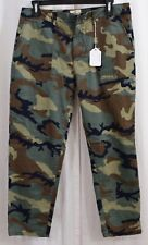 Sanctuary Peace Print Chino Pants In Camo Size 31 32/25