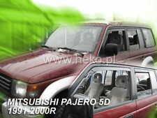 2010 conjunto de 2011 4 Climair Viento desviadores de coche Mitsubishi Lancer Sportback 2008..
