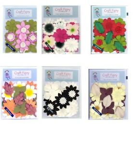 Mulberry Paper Flowers and leaves x 20 pieces various themes