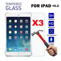 3-PACK Tempered GLASS Screen Protector For iPad 7 GENERATION 10.2 INCH 2019