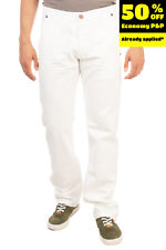 RRP €140 BRYAN HUSKY Jeans Size IT 46 / S LIMITED Crumpled Effect Made in Italy