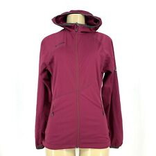 MAMMUT Women Ultimate Softshell Hoody  Full Zip Jacket Sz XS KA7
