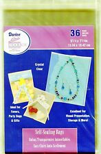 Crystal Clear Self-Sealing Bags 36ct. 5x7 Quilling-Scrapbook-Cardmaking-Storage