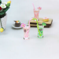Miniature Dollhouse Cup 1:12 Kitchen Room Food Mini Drink Tea For Doll SE