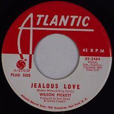 WILSON PICKETT: Jealous Love / I've Come  ATLANTIC Soul R&B Promo 45 HEAR