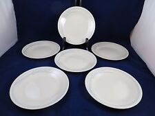 Corelle BLUE LILY  By Corning   Set of 6  Bread Plates 6 3/4""