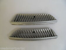 smart car 450 fortwo city coupe cabriolet SILVER INSPECTION GRILLS 1999-2007