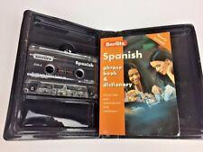 Berlitz Spanish Cassette Pack with phrase book