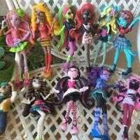3pcs/lot Monster Toys Dolls Model 15cm-18cm High Quality Toy Gift for girls Clas