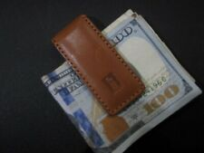 Magnetic Money Clip (Njl017043) Hartmann Tan Brown Leather