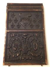 Antique Ornate National Cash Register Model 216 Backplate