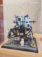 Lego display case for Lego NASA Apollo 11 Lunar Lander 10266 (Aus Stock)