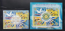 Philippine Stamps 2010 Rotary International (Philippine Rotary 90th Ann.) Cpl