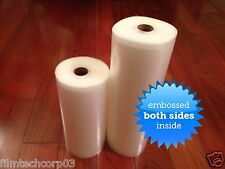 2 ROLLS 1 Ea. 8x50 & 11x50 4 Mil Vacuum Seal Rolls FREE Foodsaver Bag to Compare