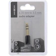 Adaptateur AUDIO Jack 6,35mm mâle - Jack 3,5mm femelle