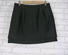 COUNTRY ROAD Mini Skirt Sz 8 Black
