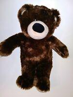 "Build A Bear Brown Shiny Bear 15"" Plush Stuffed Animal"
