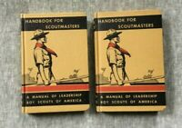 Handbook for Scoutmasters Vol 1 (1938) and Vol 2 (1942)