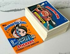 '87 Topps Garbage Pail Kids Original 9th Series 9 Complete MINT Card Set GPK OS9