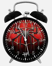 Spiderman Spider Man Alarme Horloge de Bureau 9.5cm Décor W148 Nice pour Cadeau