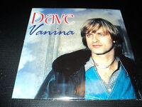 """CD NEUF """"DAVE - VANINA"""" 14 titres"""