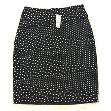 White House Black Market Mixed Dot Pencil Skirt size 4 new with tag