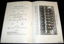 STURGIS MICHIGAN HIGH SCHOOL 1946 FOOTBALL PROGRAM vs COLDWATER TEAM PHOTO