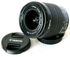 Canon EF-S 18-55mm IS STM Silent Motor Movie Zoom Lens For Digital SLR Camera