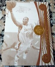KOBE BRYANT 2005 2006 Topps First Row Sepia GOLD RARE SP 23/25 Lakers MVP HOF $$