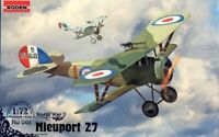 1:72 WW1 Fighter : Nieuport 27 [France] #061 : Roden