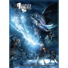 Final Fantasy TCG Deck Protector Card Sleeves Type - 0 FFTCG FF New sealed 60 ct