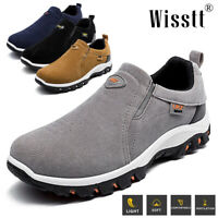 Mens Slip On Boat Deck Mocassin Antiskid Loafers Trainers Driving Climbing Shoes
