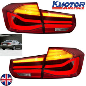 a pair LED Taillights Fits For BMW 3 Series F30 F35 E-MARK Dynamic Indicator