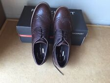 Rockport Mens Shoes Size 9 Craydn Wingtip Brown Leather Oxford tie V74227