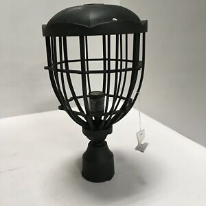 Feiss Outdoor Post Light River North Collection 1-Light Black OL9807TXB