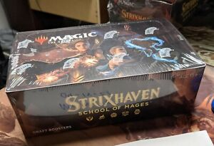 Magic The Gathering Strixhaven Draft Booster Box Factory Sealed In Hand!