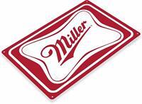 Miller Beer Bar Pub Rustic Retro Tin Metal Sign