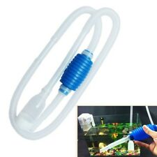 Aquarium Clean Vacuum Water Change Gravel Cleaner Fish Tank Siphon Pump Pop.