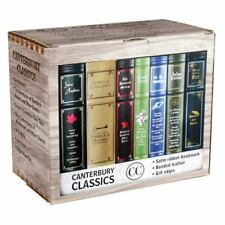 Canterbury Classics Box Set by Jane Austen, Jules Verne, H. G. Wells, Jacob and Wilhelm Grimm and Lewis Carroll (2015, Trade Paperback)