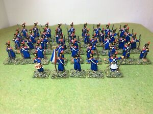 1/72 Napoleonic French Old Guard x41 New Strelets. Well painted and based