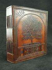 'Celtic Tree of Life' - Handmade Leather Journal Diary with Hand-Tooled ASH TREE