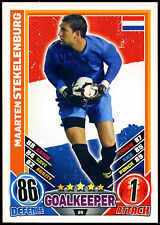 Maarten Stekelenburg Holland #88 England 2012 Match Attax TCG Card (C206)