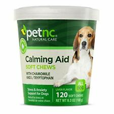 Natural Care Calming Formula Soft Chews Stress Anxiety For Dogs 120 Count✅