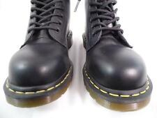 DR MARTENS 1919 BLACK SMOOTH LEATHER 10 EYE STEEL TOE CLASSIC BOOTS NOS UK 15