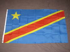 Democratic Republic of the Congo Flag 3x5 feet DRC banner Kinshasa new congonese