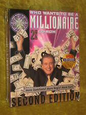 Who Wants to Be a Millionaire Second Edition NEW SEALED CD Windows 95/98 & MAC