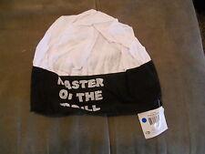 NWT Chefs Hat Black White Master of the Grill  KICHE