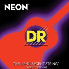 DR NOA-11 Neon ORANGE Acoustic Guitar Strings 11-50 med-lite